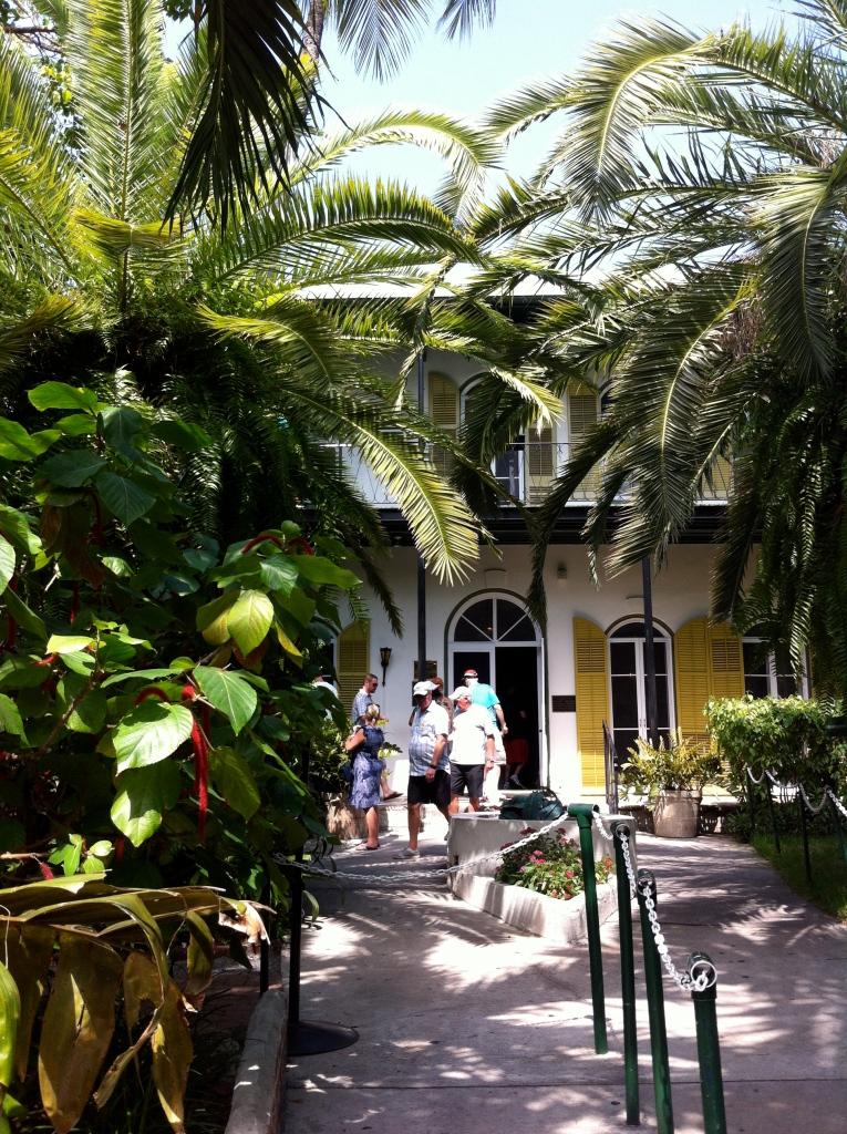1928年,海明威來到 Key West 生活,這就是海明威的房子了。